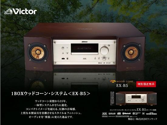 1BOXウッドコーン・システム<EX-B5> 試聴体験販売