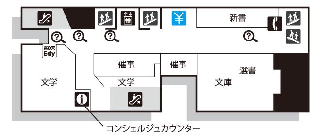 新宿本店フロアガイド 2F