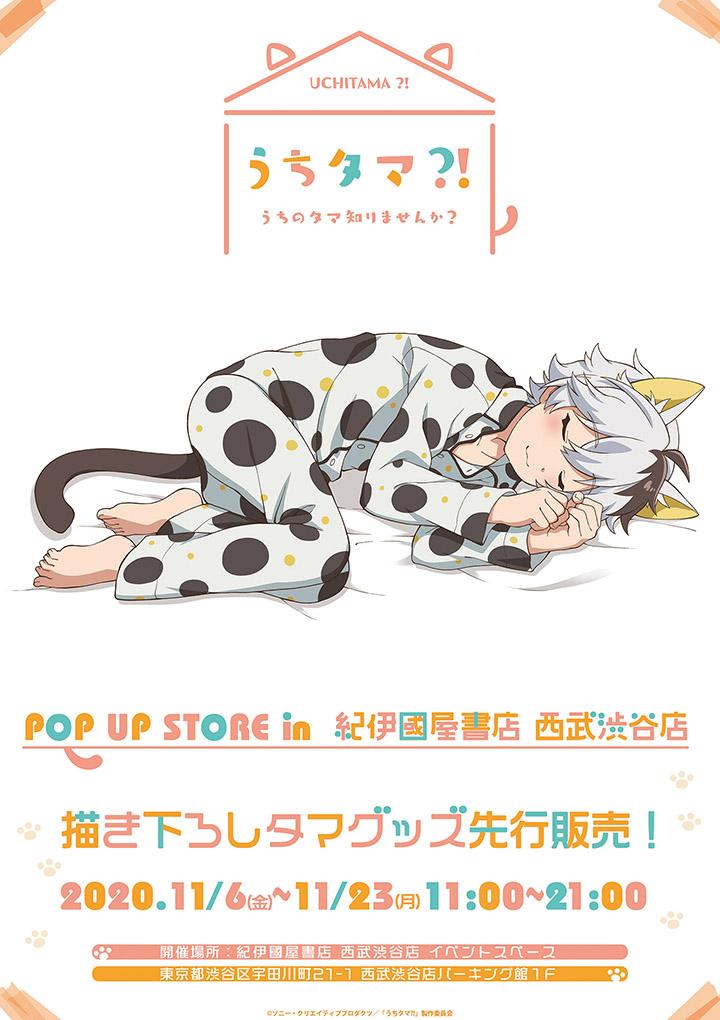 紀伊國屋書店:うちタマ?! POP UP STORE in  紀伊國屋書店西武渋谷店