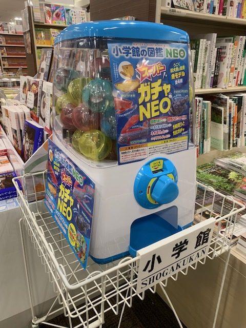 紀伊國屋書店:小学館の図鑑NEOを買ってガチャガチャに参加しよう!